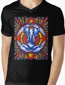 Ganesha as Goddess Mens V-Neck T-Shirt