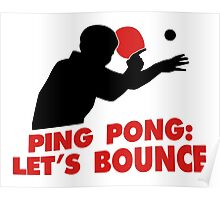 Ping Pong: Let's bounce Poster