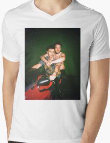 Seth Rogen and James Franco Mens V-Neck T-Shirt