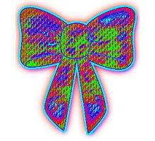 Lysergic bow Photographic Print