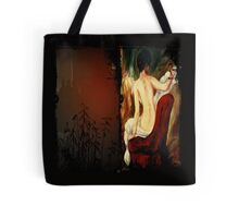 Woman in the chair Tote Bag