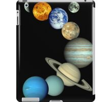 Solar System Montage iPad Case/Skin