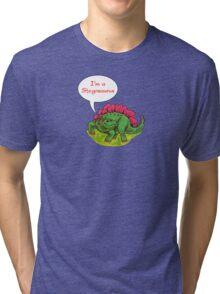 Fun Dinosaurs - Stegosaurus Tri-blend T-Shirt