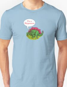 Fun Dinosaurs - Stegosaurus Unisex T-Shirt