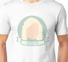 """Hoes Before Bros"" - Leslie Knope Unisex T-Shirt"