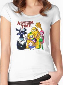 Asylum Time Women's Fitted Scoop T-Shirt