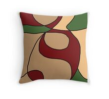 Abstract -1 :  AshleyPanditaArtCreations Throw Pillow