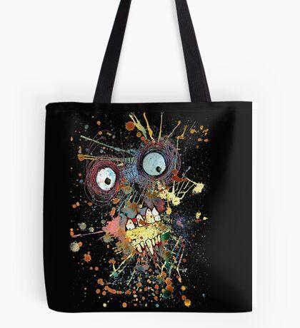 Shocked Zombie Tote Bag