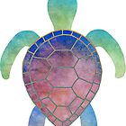 Colorful turtle by sweetslay