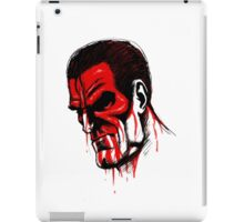 Blood face iPad Case/Skin