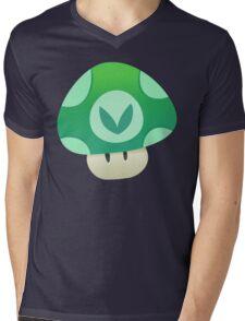 Vinesauce Mushroom Vector Mens V-Neck T-Shirt