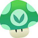 Vinesauce Mushroom Vector by Alex Cola