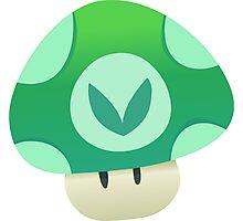 Vinesauce Mushroom Vector Photographic Print
