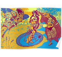 Birth Of Venus Reimagined (historic trip edition) Poster