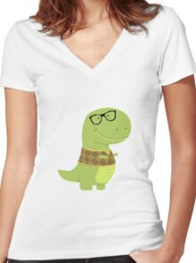 T-Vest (Geek Edition) Women's Fitted V-Neck T-Shirt