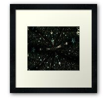 Warp Ten Framed Print