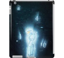 contact- red vs blue iPad Case/Skin