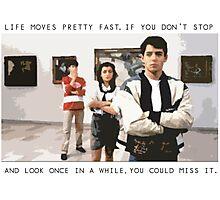 Ferris Bueller Photographic Print