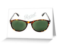 persol 2931 Greeting Card