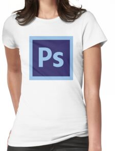 Adobe Photoshop Icon Womens Fitted T-Shirt
