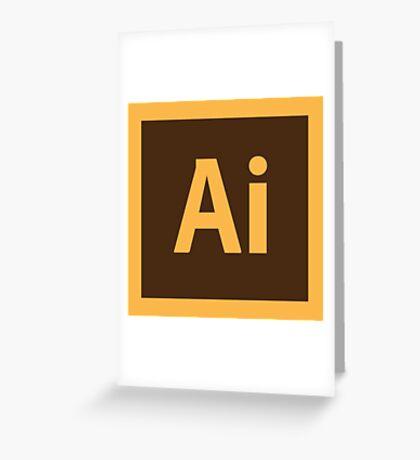 Adobe Illustrator Icon Greeting Card