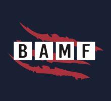 #BAMF One Piece - Short Sleeve