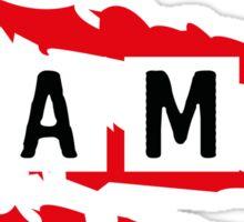 #BAMF Sticker