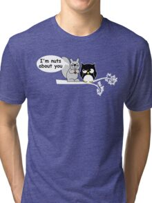 I'm nuts about you Tri-blend T-Shirt