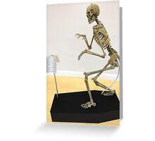 Humanosaurus Wrex Greeting Card