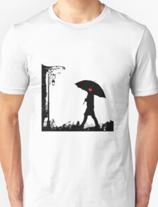 Heart umbrella - looking for love Unisex T-Shirt