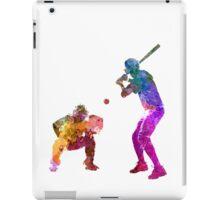 baseball players 01 iPad Case/Skin