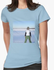 Shoe Lake, 2012 Womens Fitted T-Shirt