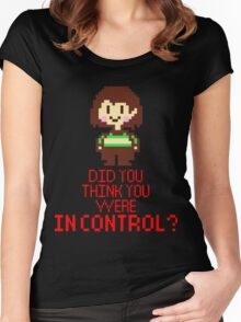 Undertale Chara Women's Fitted Scoop T-Shirt