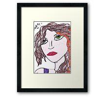 Galway Girl! Framed Print