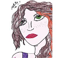 Galway Girl! Photographic Print