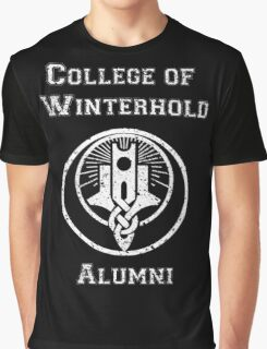College of Winterhold Alumni Graphic T-Shirt