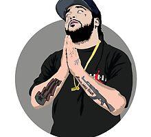 RIP A$AP Yams T-Shirt (ASAP Mob) by deauwp