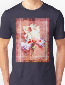 Decorative Iris Painting T-Shirt