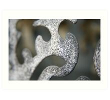 Abstract in metal... Art Print