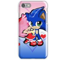 Sonic & Amy Valentines  iPhone Case/Skin