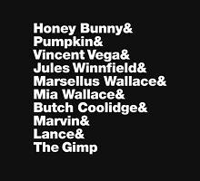 Pulp Fiction - Helvetica Hoodie