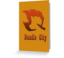 Bandle City Greeting Card