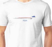 Prototype Concorde 001 F-WTSS Unisex T-Shirt