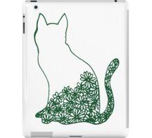 FLOWER CAT iPad Case/Skin