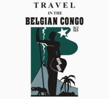 Travel in the Belgian Congo art deco Kids Clothes