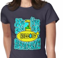 YELLOW SUBMARINE Womens Fitted T-Shirt