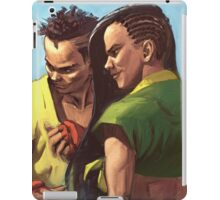 Street Fighter: Sean and Laura iPad Case/Skin
