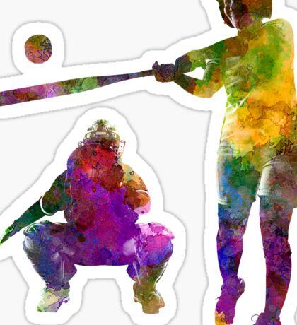 baseball players 02 Sticker