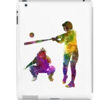 baseball players 02 iPad Case/Skin