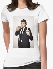 James Franco 4 Womens Fitted T-Shirt